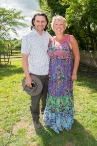 Karen Lumley & Stockwood founder Sebastian Parsons