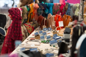 One of the many stalls on show