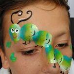 caterpilla face paint